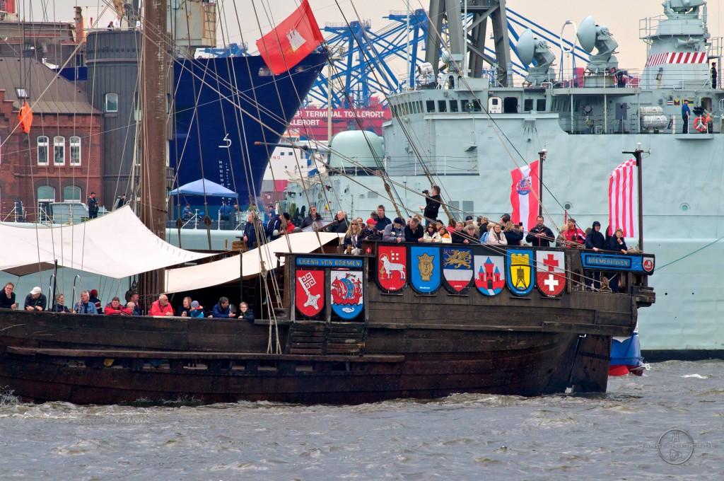 Einlaufparade Hafengeburtstag 13 11